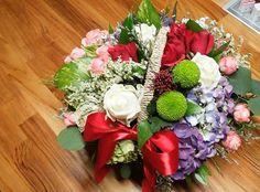 #꽃바구니#페이지그린#페이지그린은평 #꽃#은평롯데몰#퐁퐁국화 #수국#자나#
