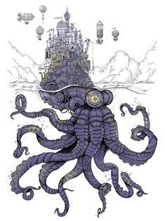 steampunk-art:  Steampunk Art