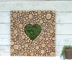 Produkty podobne do Reclaimed Wood Moon Sculpture Wedding decor Repurposed Recycled Wood slice sculpture Tree slice abstract shape free form w Etsy Moss Wall Art, Moss Art, Large Wood Slices, Modern Country Style, Modern Rustic Decor, Art Mural, Abstract Shapes, Recycled Wood, Wall Sculptures