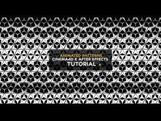 CINEMA4D TUTORIAL - How to make animated patterns (Cinema4D & After Effects) - YouTube