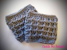 free crochet boot cuff pattern with bulky yarn | ... : Maggy Boot Cuff Crochet Pattern pattern ... | Crochet acceso