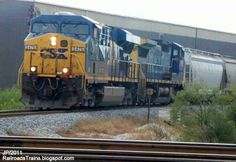 csx cordele | CSX 5476 ES44DC GE Locomotive Train Engines, CSXT Railroad Cordele ...