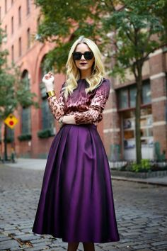 Blair Eadie of Atlantic Pacific wearing ombre leopard J. Brand RTW top and the Violet Femmes trend.