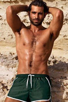 Ruben Cortada for Calzedonia Swimwear 2013 09 Ricardo Baldin, One Of The Guys, Older Men, Actor Model, Gorgeous Men, Gq, Male Models, Hot Guys, Hot Men