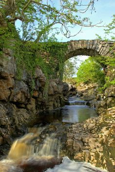 Packhorse Bridge, Ribblehead, Yorkshire Dales, England