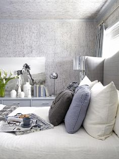 A Sophisticated Bedroom Fit for Guests (http://www.hgtv.com/decorating-basics/a-sophisticated-bedroom-fit-for-winter-guests/pictures/page-15.html?soc=Pinterest)