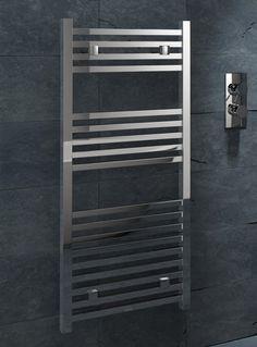 Kudox Designer Towel Rail Sevilla x Chrome Towel Rail, Ladder Bookcase, Chrome, Shelves, Design, Home Decor, Sevilla, Towel Racks, Shelving