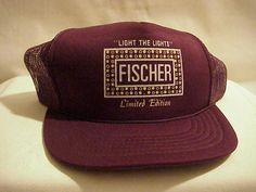 """Danville, IL - The Fisher Theater - Limited Edition """"Light The Lights"""" Hat - 1990's."""