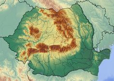 Deutsch: Positionskarte von Rumänien Quadratische Plattkarte, N-S-Streckung 140 %. Geographische Begrenzung der Karte:  English: Location map of Romania Equirectangular projection, N/S stretching 140 %. Geographic limits of the map:  N: 48.5° N  S: 43.4° N  W: 20.0° E  E: 30.0° E