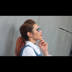 """❤️ 2016 SS Seoul Fashion Week  #miscellalove #miscellani #shopmiscellani #sfw #seoulfashionweek #ddp #korean #fashion #trend #style #model #sunglasses #ulzzang #looks #beauty #highfashion #runway #love #韩国时装 #韩国流行 #韩国品牌 #潮服 #流行时尚 #代购 #东大门"""