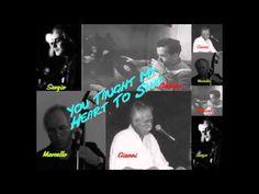 Adriano Pateri - Piano; Gianni Flores - Vocal & Keyboard; Marcello Rocchetti - Double Bass. https://www.youtube.com/user/MarcelitoRock