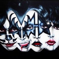 Image about art in Kiss.Gene Simmons by Lew Heavy Metal, Banda Kiss, Rock And Roll, Kiss Members, Kiss Rock Bands, Architecture Drawing Sketchbooks, Rock Y Metal, Kiss Art, Paul Stanley