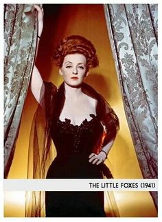 A great movie and a great villainess role for Bette Davis