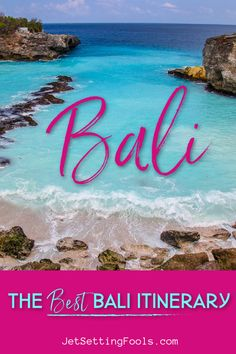 When we decided to go to Bali, Indonesia for my birthday, we were intent on planning the perfect trip. Relaxation was a priority for our Bali itinerary, but we were seeking a bit of adventure, too. It was our first visit to the island and deciding where to go in Bali was overwhelming. So many places intrigued us…but we quickly identified a few spots we wanted to avoid. As we researched, our one week in Bali turned into two weeks in Bali…which turned into one month in Bali. And it was awesome. China Travel, Bali Travel, Tokyo Japan Travel, Travel Guides, Travel Tips, Travel Couple, Travel Around The World, Trip Planning, Travel Inspiration