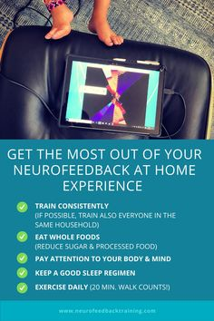 How to get the best results from neurofeedback? As the lead provider of NeurOptimal neurofeedback home system rentals, we have years of experience helping clients optimize their brain training. Read our top 5 brain training tips to make your neurofeedback sessions as effective as possible and to get the best results. Brain Training, Training Tips, Feeling Hopeless, Specific Goals, Food Pyramid, Brain Waves, Essential Fatty Acids, Neurons