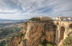 Ronda, Málaga (Spain). This was one of the places I really wanted to go in Spain but didn't make it to :(