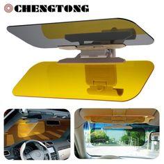 HD Auto Sonnenblende Brille für Fahrer Tag & Nacht abblendender Glanz Spiegel Clear View Dazzling Brille Innen zubehör SU002