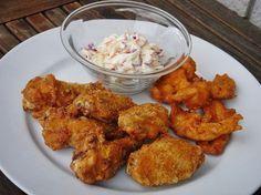 Nem vagyok mesterszakács: Házi KFC menü: csirkeszárnyak és csirkemell csíkok fűszeres-ropogós bundában amerikai káposztasalátával Kfc, Tandoori Chicken, Steak, Menu, Ethnic Recipes, Food, Greedy People, Menu Board Design, Essen