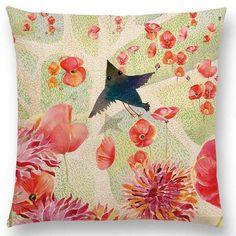 Watercolor Unicorn & Fairytale Cushion Covers