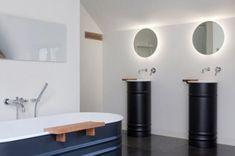 décoration intérieure de salle de bains dans hôtel