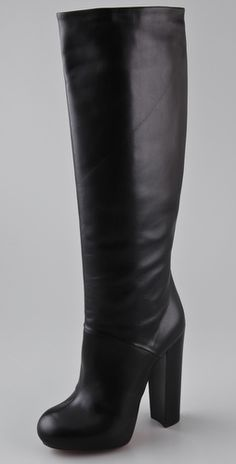 Brian Atwood Pheonicia Platform Boots #fall #leather #shoes