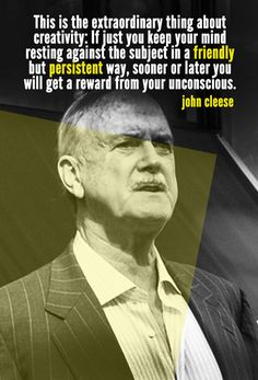 John Cleese | 10 Quotes To Inspire Your Inner Creative