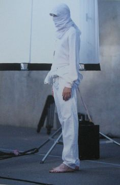 Spring/Summer 2002. Alexander. Photographed by Kurt De Wit. Grooming: Peter Philips. Paris, 2001. taken by me from raf simons redux