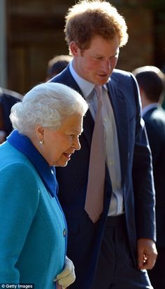 Aides said Prince Harry had been 'extremely nervous' as he waited anxiously to show his gr...