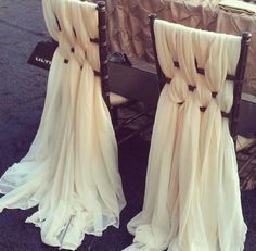 Wedding chairs -- Maybe for OUR chairs to make them feel more throne like