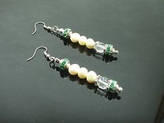 Beautiful, Pearls Earrings Designer Jewelry, Handcrafted Jewelry Design 2454MJ