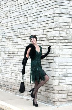 Jessica Quirk, Birthday Party, Goodbye to the Roaring Twenties Birthday, Jessica Quirk Great Gatsby Costume, Roaring Cost. 1920s Inspired Fashion, Roaring 20s Fashion, 1920s Fashion Women, Great Gatsby Fashion, Roaring Twenties, Vintage Fashion, 1920 Style, Style Année 20, Gatsby Style