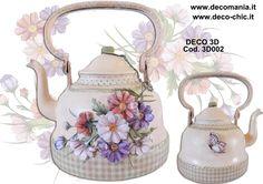 BOLLITORE REALIZZATO CON CARTE DECO 3D COD.3D002. Carte disponibili presso i nostri rivenditori o sul nostro store online www.deco-chic.it