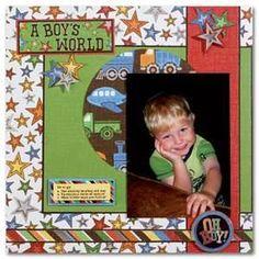 scrapbooking ideas for baby - Bing Imagens