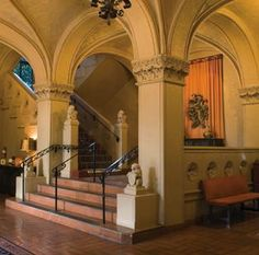 Built in 1927 as a women's activity center, the Berkeley City Club boasts a vibrant history as one of the most storied addresses in both Berkeley and the state. Architecture Program, San Simeon, Shades Of Yellow, Northern California, Lodges, Taj Mahal, Castle, History, City