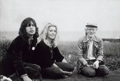 Mick Jagger, Catherine Deneuve, Andy Warhol.
