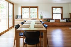 Dining Room.  Corey Martin, architect. THA Architecture.