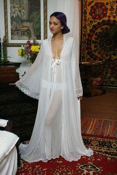 Black Lace Robe Black Sleepwear Lingerie Black por SarafinaDreams Camisa De  Dormir 76ef97f5c9d6