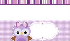 free-printable-purple-owls-kit-011.jpg (1156×695)