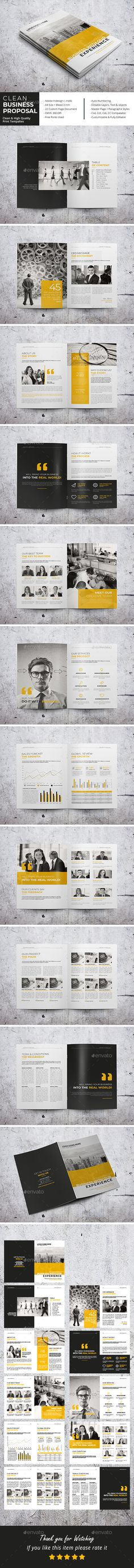 Clean Business Proposal