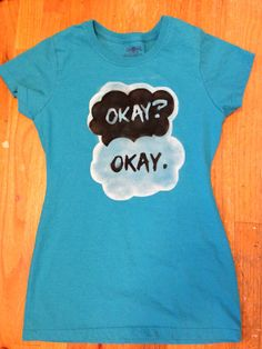 The Fault in Our Stars Shirt by LunaLovegoodIsOk on Etsy, $17.00