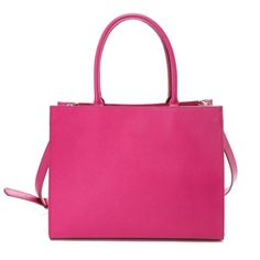 another boxy bag with big empty space... and umm hotpink!