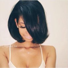 I wear my hair parted to the side so a side bang, but one long enough to blend in and not look blunt or too short