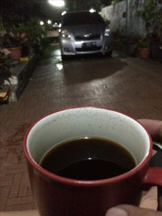 Night coffee..