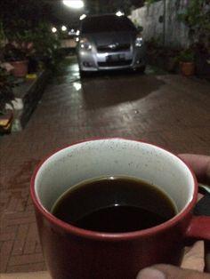 Night coffee..