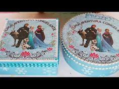 Princesa Disney, Diy Projects, Box, Birthday, Craft Box, Easy Crafts, Craft Videos, Decorated Boxes, Crates