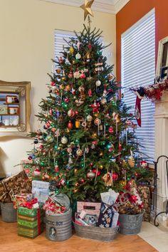Oh Christmas Tree!   Galvanized bucket display   Home spun Texas Christmas ideas photo by @Lance Selgo