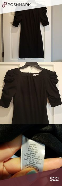 Beautiful Jessica Simpson little black dress! Everyone needs a cute LBJ! This Jessica Simspon dress is super cute with ruffled sleeves. Worn once and in great condition! Jessica Simpson Dresses
