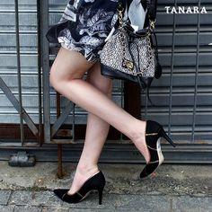 Black is always a good idea. Compre Tanara sem sair de casa: http://ift.tt/1SLG2kZ Ref. T0183 #lookdodia #ootd #ShoesOfTheDay