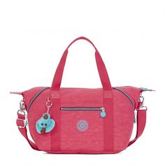 Kipling Art S Handbag - Vibrant Pink - Kipling #kipling #bags #fashion
