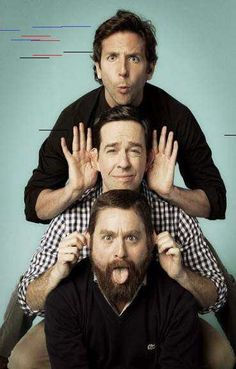 Photo of Entertainment Weekly Hangover 2 Photoshoot for fans of Bradley Cooper 22115424 Three Best Friends, Guy Friends, Best Friend Goals, Funny Group Pictures, Guy Pictures, Fun Group Photos, Photography Poses, Amazing Photography, Friend Photography